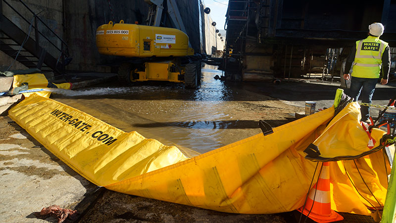 Digue anti-inondations WATERGATE