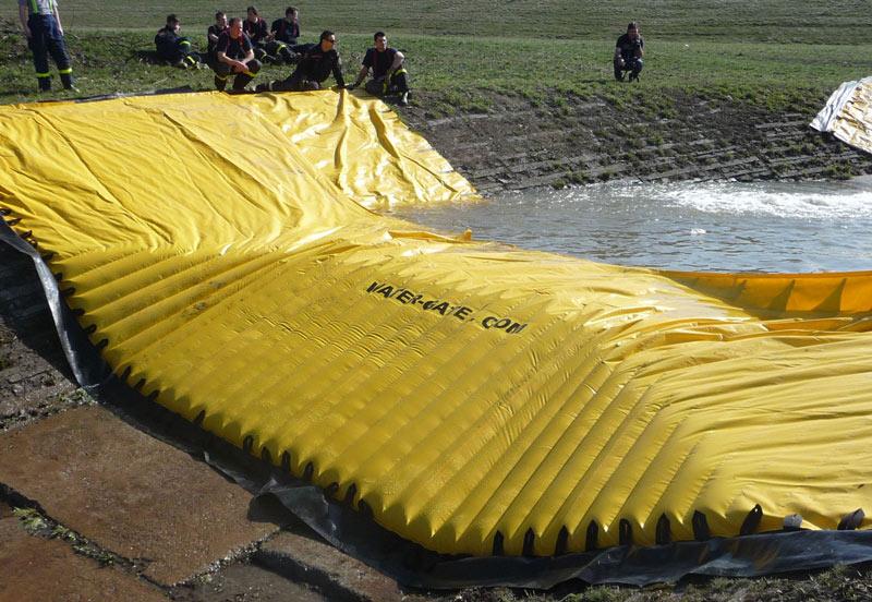 Batardeau anti-inondations